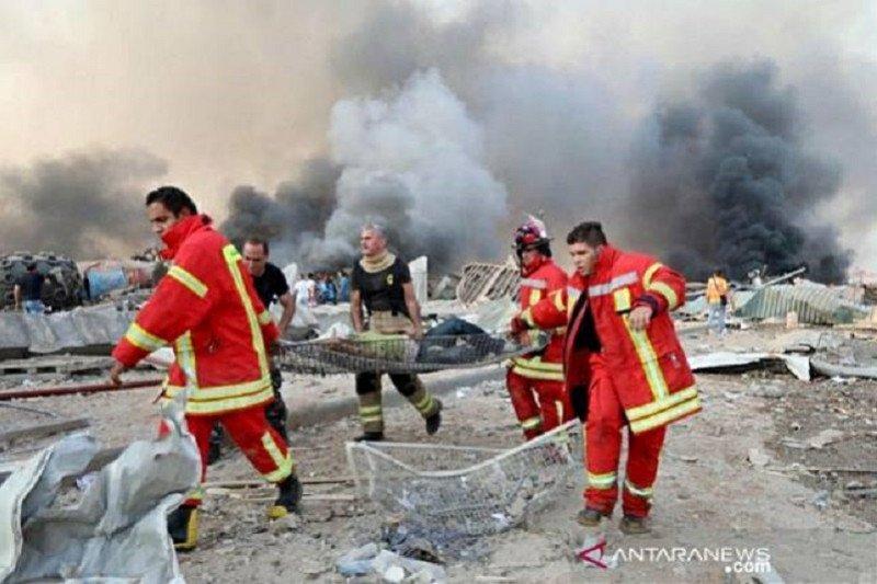 Inggris: Terlalu cepat berspekulasi soal penyebab ledakan Beirut