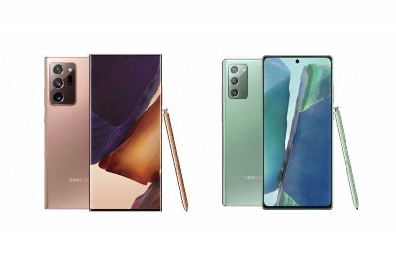 Samsung rilis Galaxy Note 20 dan versi Ultra