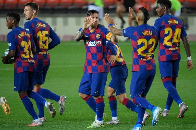 Barcelona beli Gustavo Maia remaja Brazil dengan opsi jual Rp5,1 triliun