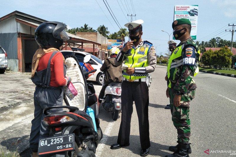 Bukti tilang dikeluarkan polisi Pariaman turun drastis jadi 182 selama Operasi Patuh Singgalang 2020