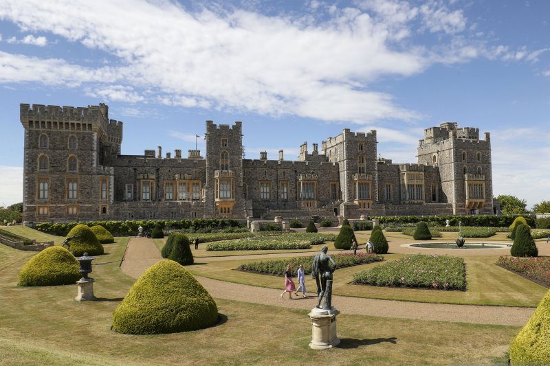 Kastil Windsor buka tamannya untuk umum setelah 40 tahun tertutup