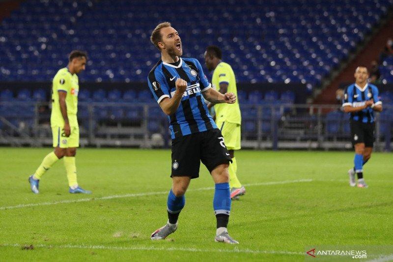 Inter Milan amankan tiket perempat final setelah tundukkan Getafe 2-0