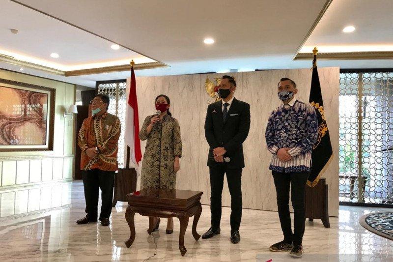 Pertemuan Ketua DPR Puan-AHY bicarakan COVID-19 hingga Pilkada 2020
