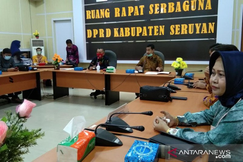 DPRD Seruyan terima kunker DPRD Banjar Baru terkait pendidikan