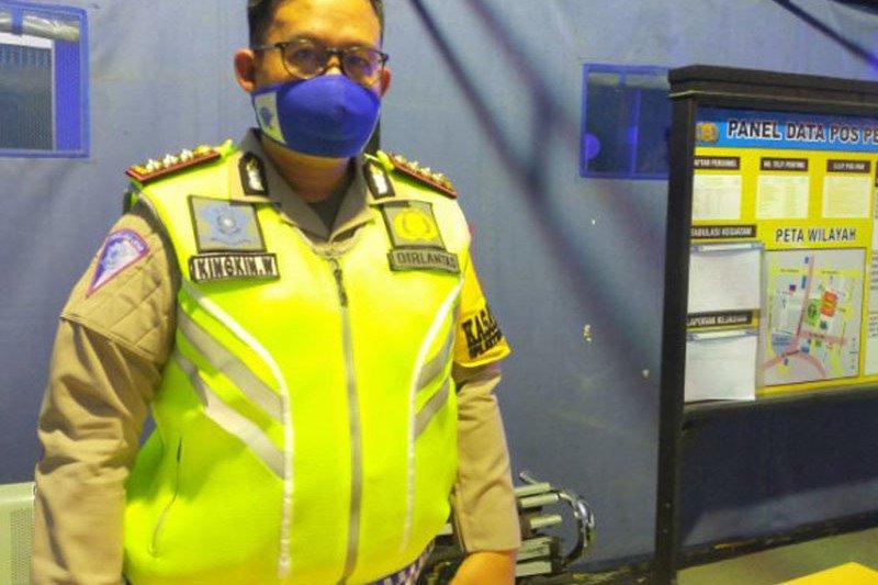 Polda Sulteng tegur 750 pengendara  tidak taati protokol kesehatan