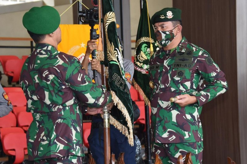 Kasad Jenderal Andika Perkasa pimpin sertijab tujuh pati