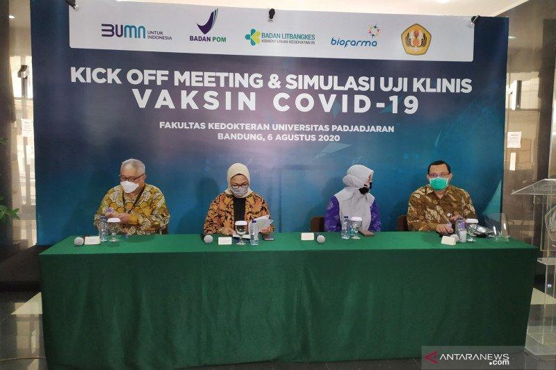 Tim Riset Vaksin COVID-19 Sinovac persilakan pejabat menjadi relawan