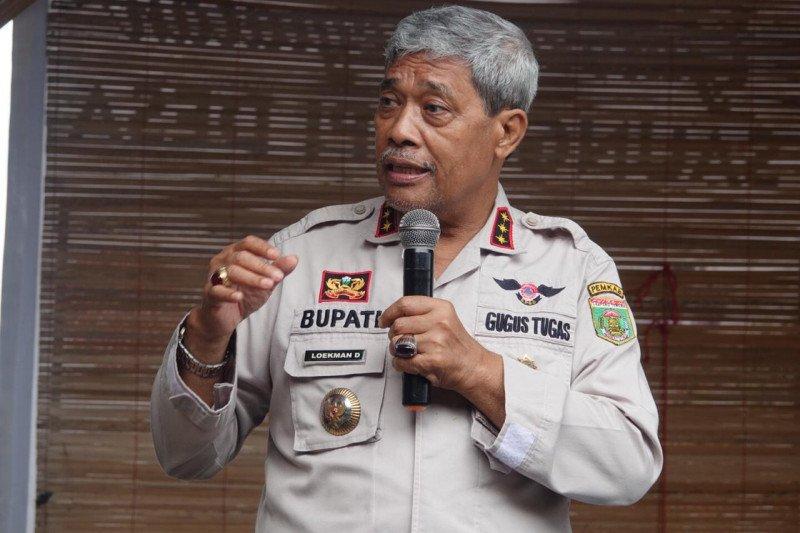 Bupati Lampung Tengah Loekman gelar diskusi guna tingkatkan perekonomian