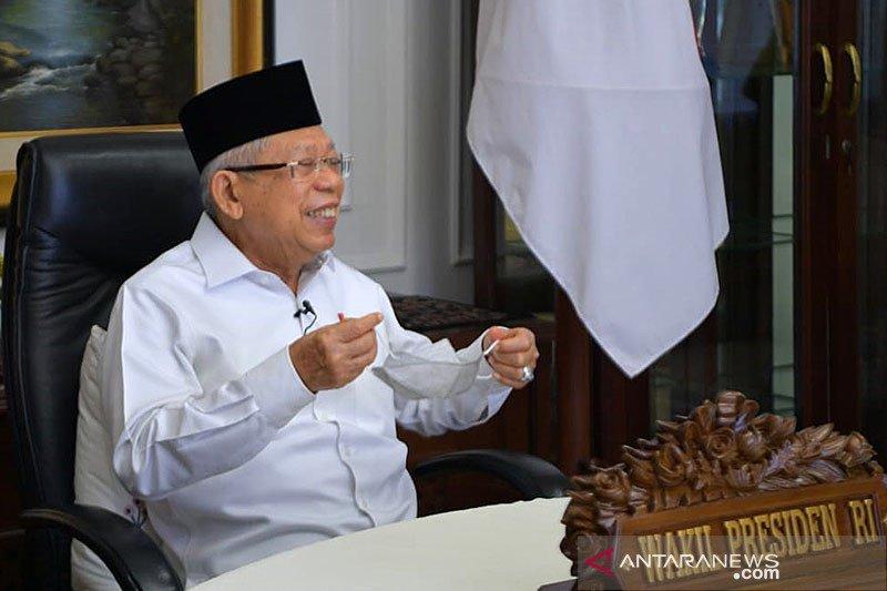 Wapres Amin: Pengembangan ekonomi syariah disertai penerapan teknologi