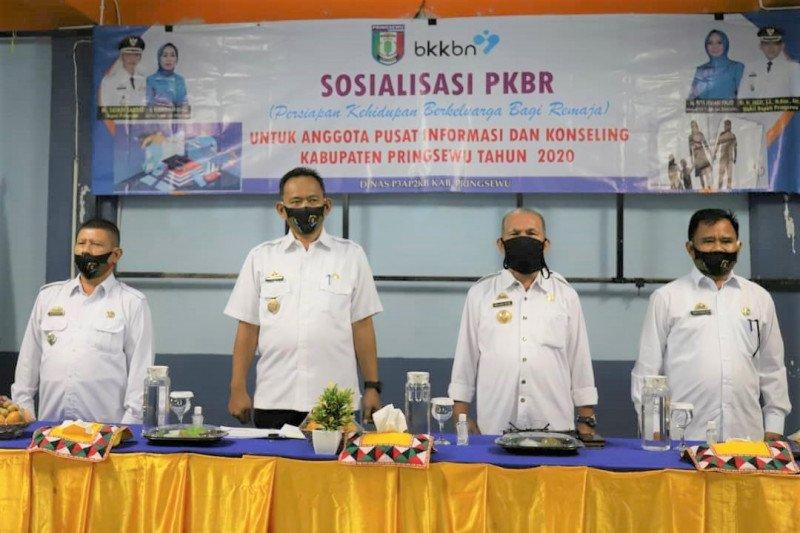 Wakil Bupati Pringsewu buka sosialisasi persiapan kehidupan berkeluarga remaja