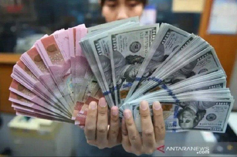 Kurs rupiah ditutup melemah imbas kisruh AS-China