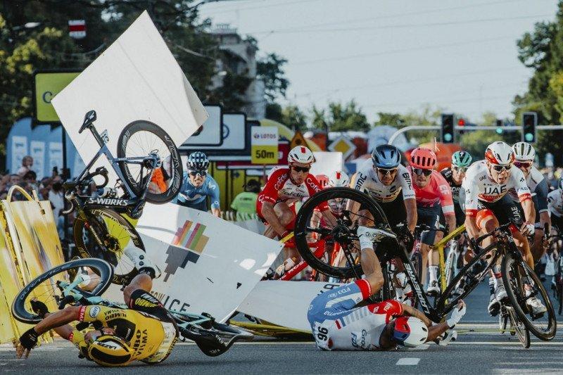 Pebalap sepeda Belanda Fabio Jakobsen siuman dari koma