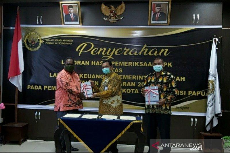 BPK RI berikan opini WTP atas LKPD Pemkab Asmat