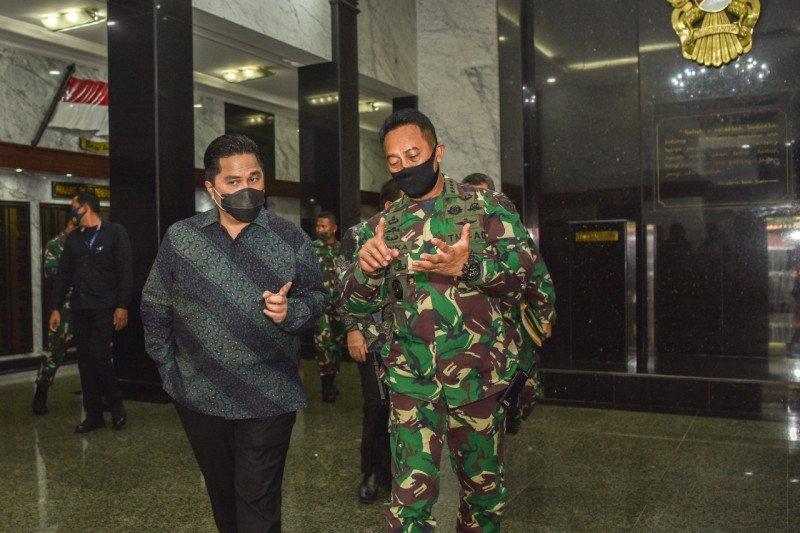 Komite Penanganan COVID-19 dan PEN libatkan TNI AD tanggulangi pandemi