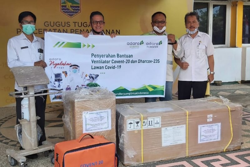 PT Indonesia Bulk Terminal assists Kotabaru with ventilators