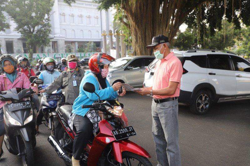 Sleman bagikan ribuan masker menyusul lonjakan kasus positif COVID-19