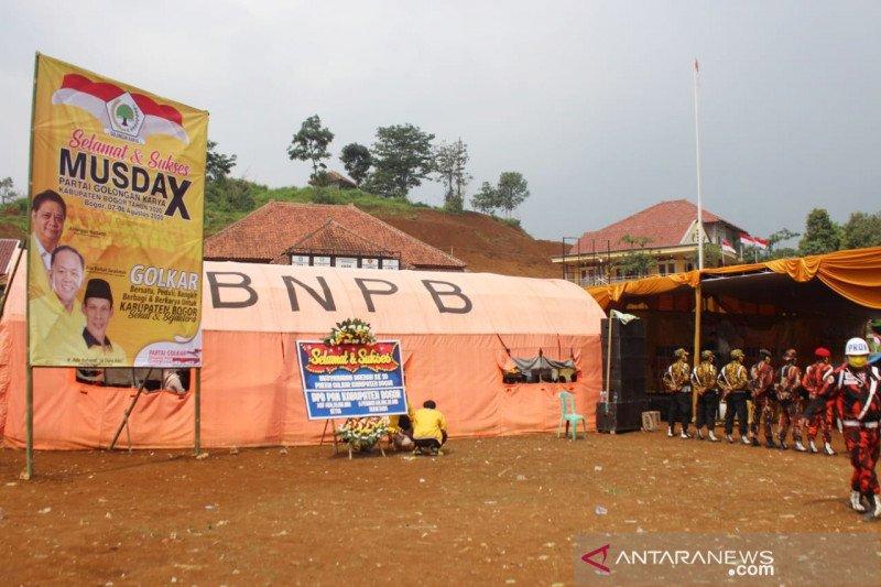Partai Golkar Kabupaten Bogor gelar Musda di pengungsian korban bencana