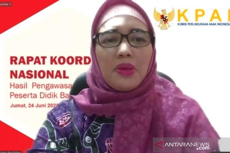 KPAI sayangkan keputusan pemerintah izinkan belajar tatap muka di zona kuning