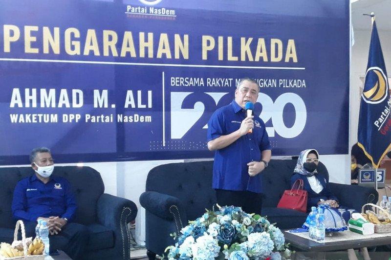 Ahmad Ali: NasDem bukan partai penggembira pada pilkada di Sulteng