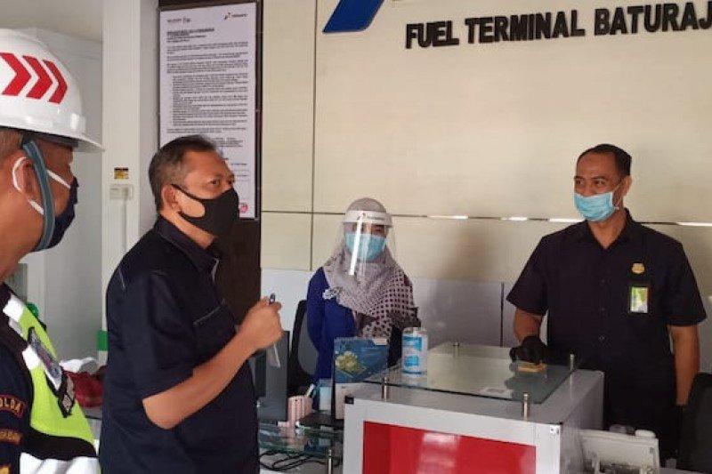 Pertamina kampanye protokol kesehatan COVID-19 di Fuel Terminal