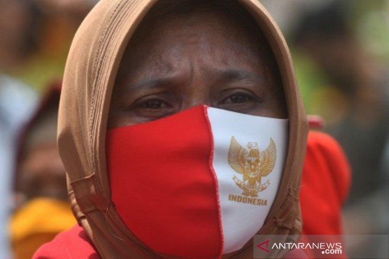 Demo penyintas bencana gempa dan tsunami