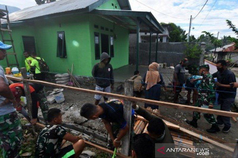 TNI rehab rumah tidak layak huni