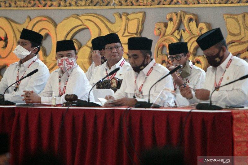 Gerindra umumkan pengurus DPP 2020-2025