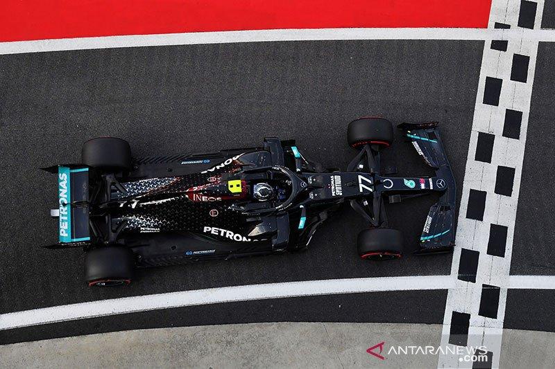 Bottas raih pole position di Silverstone