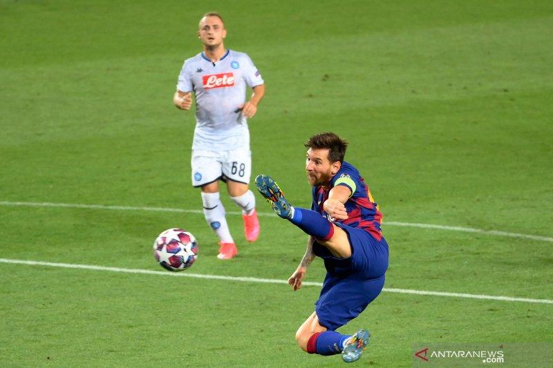 Liga Champions, Barcelona tundukkan Napoli 3-1