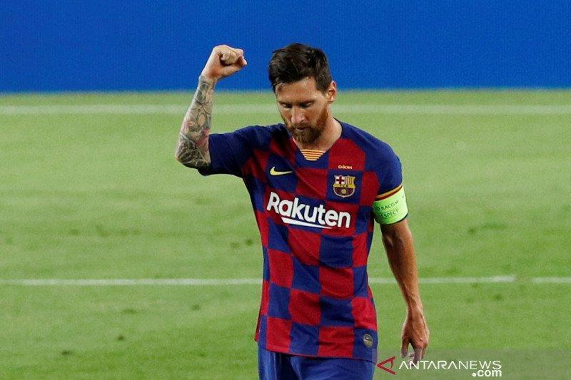 Usai kalahkan Napoli, Barcelona dan Lionel Messi catat  rekor baru