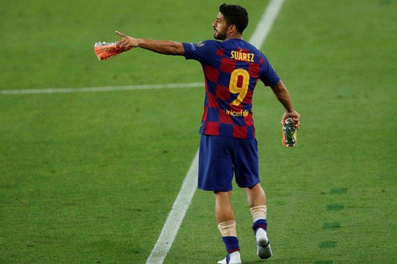 Luis Suarez ungkap rahasia Barcelona tundukkan Napoli