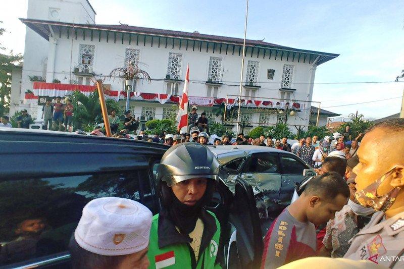 Polisi masih selediki peristiwa kecelakaan Pajero Sport tabrak enam kendaraan beruntun di Padang