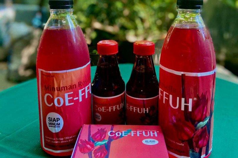 Tim Farmasi Unhas hasilkan produk minuman siap saji dari kelopak bunga rosella