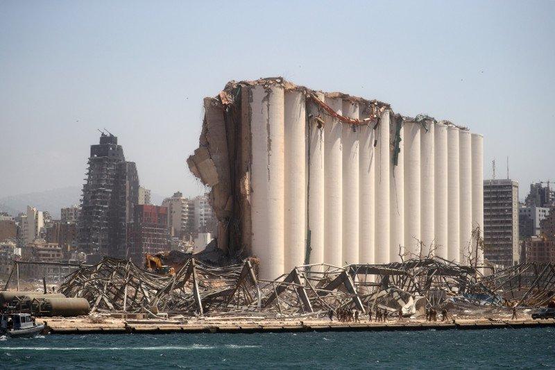 8.000 bangunan hancur akibat ledakan dahsyat di Beirut