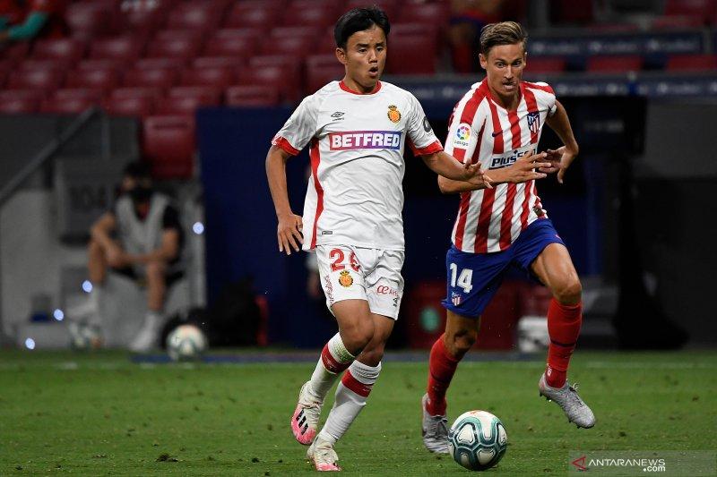 Villarreal pinjam pemain muda Jepang Kubo dari  Madrid