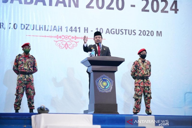 Ketua Muhammadiyah Sulsel resmi jabat Rektor Unismuh Makassar