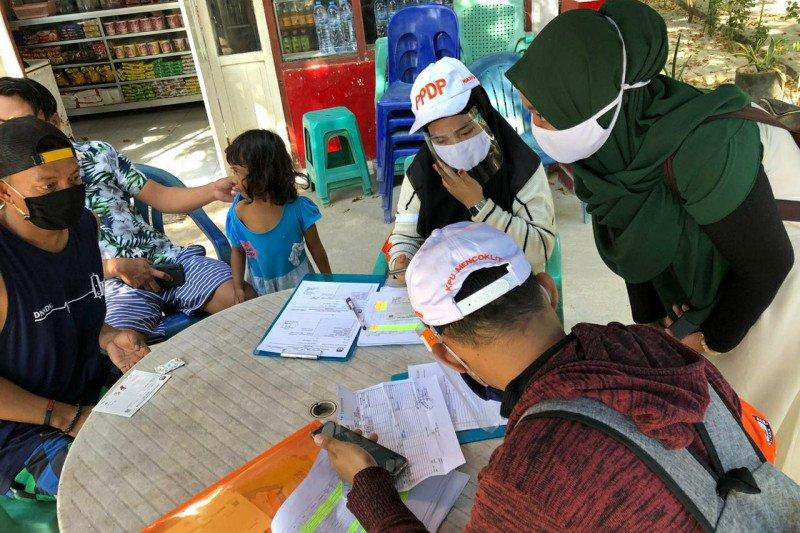 Jumlah pemilih di 12 kabupaten/kota hasil pemutakhiran sementara 3.739.572 jiwa