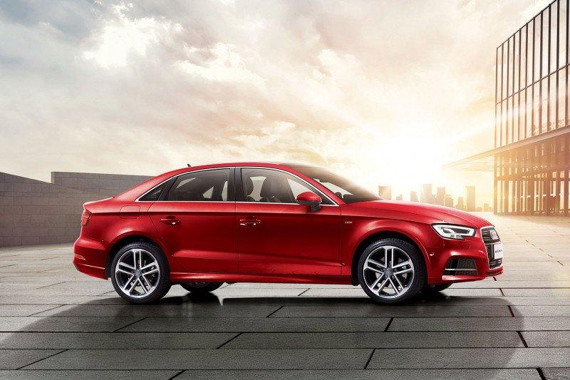 Audi A3 akan meluncur dengan versi 'long-wheelbase' di China