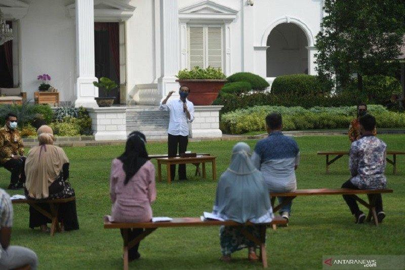 Presiden Jokowi: Pastikan skema jaring perlindungan sosial berjalan efektif