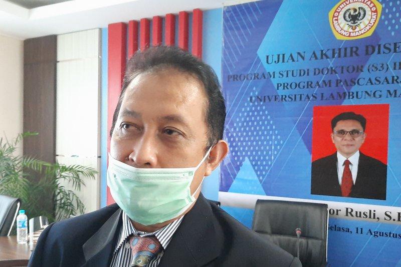 Prof Yudi: Disertasi mahasiswa ULM diakui internasional