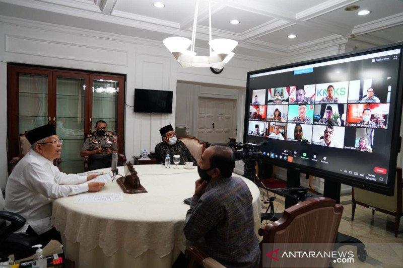 "Wapres Ma'ruf minta ""fintech"" ikut tingkatkan literasi ekonomi syariah Indonesia"