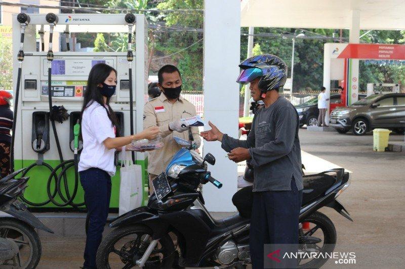 Pertamina kembali sosialisasikan lawan COVID-19 di SPBU Kota Jayapura