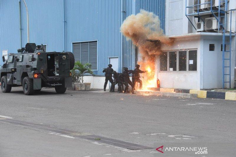 Komando Operasi Khusus TNI mulai gelar latihan penanggulangan terorisme
