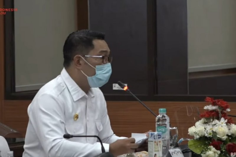 Gubernur Ridwan Kamil: Jabar paling rawan terhadap COVID-19