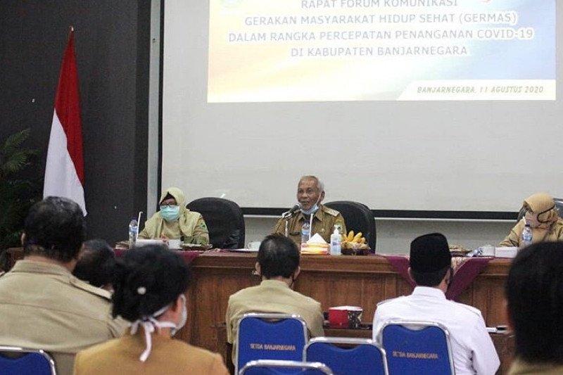 Pemkab Banjarnegara kampanyekan germas cegah COVID-19