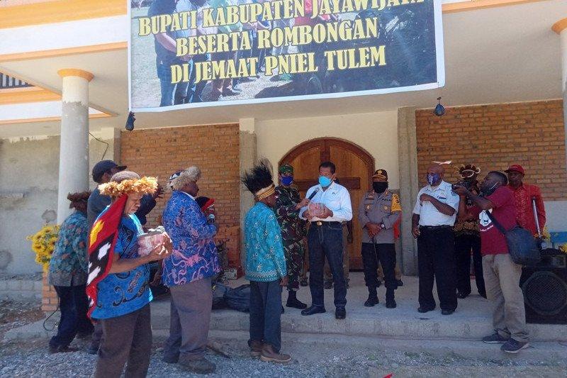 Pemkab Jayawijaya bantu pembangunan gereja Rp380 juta