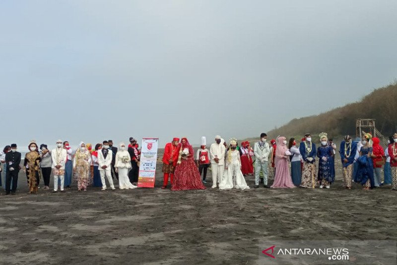 11 pasang pengantin laksanakan Nikah Bareng Merah Putih sambut Dirgahayu RI ke-75
