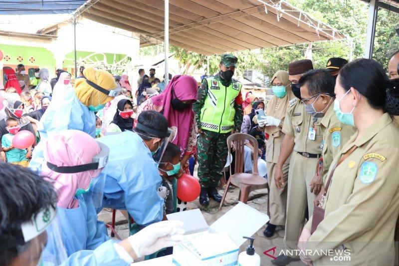 Dinas Kesehatan Bangka fokuskan pemberian imunisasi anak desa terpencil