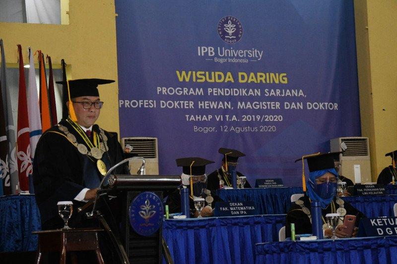 IPB University gelar wisuda daring