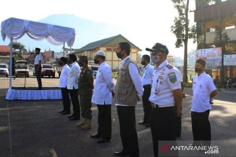 Padang Panjang laksanakan apel kesiapsiagaan jelang dimulainya kembali aktivitas di sekolah